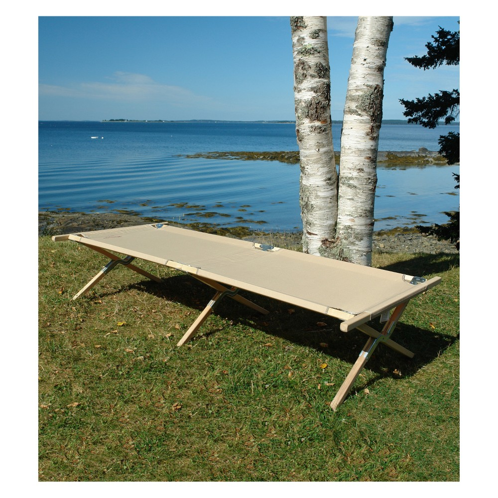 Maine Heritage Wooden Cot Natural - Byer of Maine