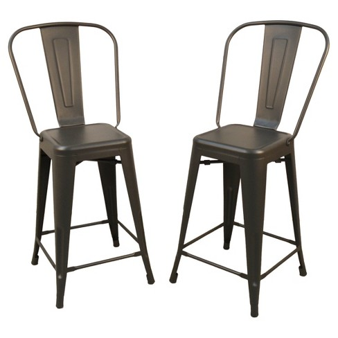 Incredible 24 Sadie Set Of 2 Counter Stool Rustic Pewter Carolina Chair And Table Pdpeps Interior Chair Design Pdpepsorg