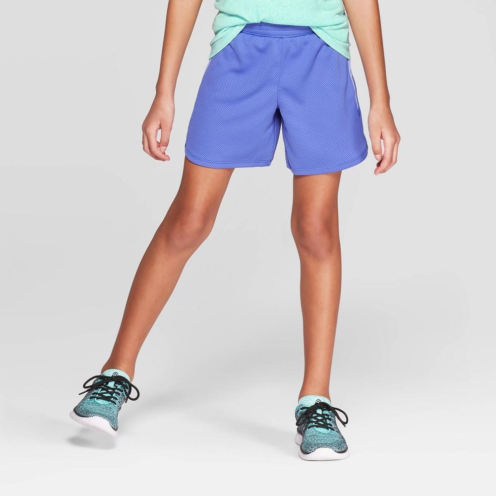 Girls' 5 Gym Shorts - C9 Champion Blue XS