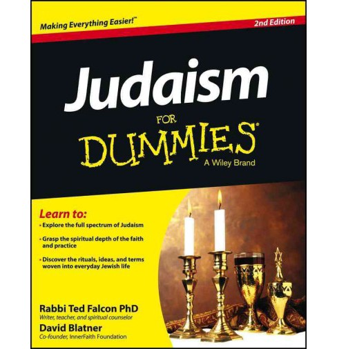 Judaism for Dummies (Paperback) (Ph.D. Ted Falcon & David Blatner) - image 1 of 1