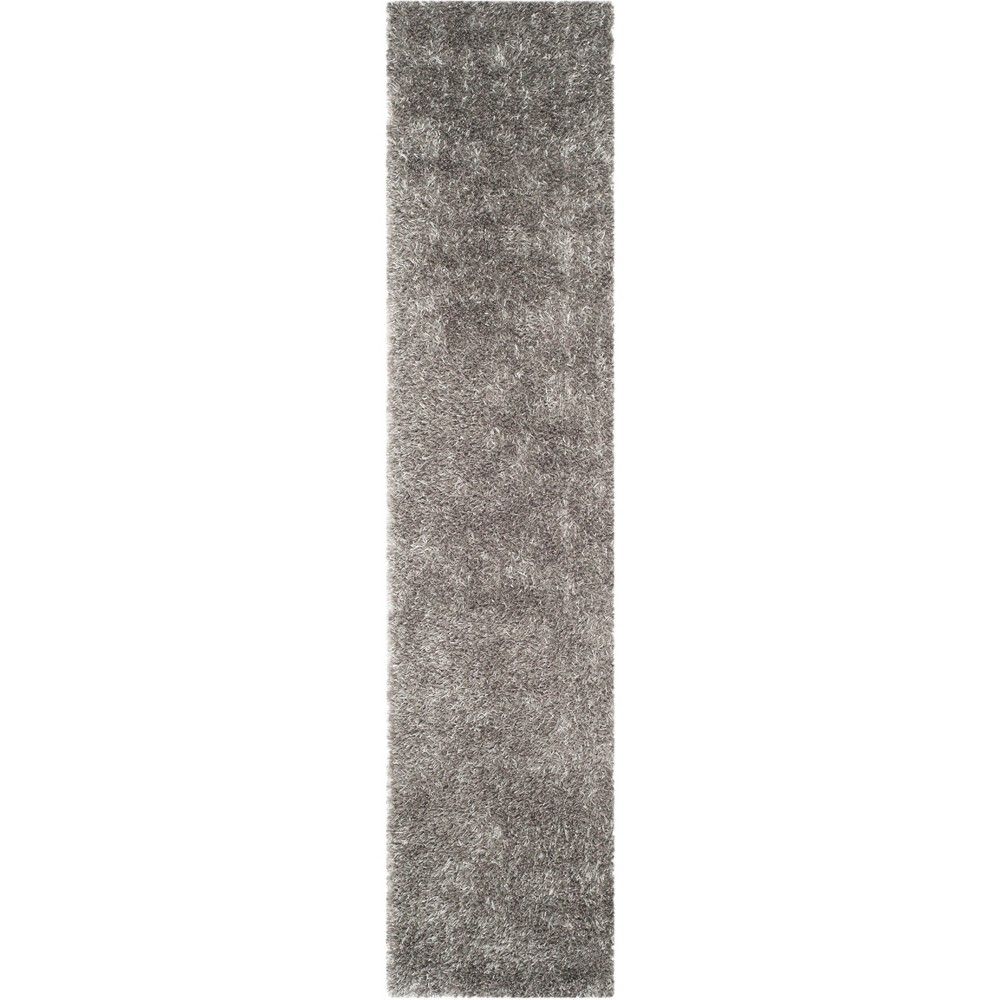5 X7 Solid Tufted Area Rug Gray Safavieh