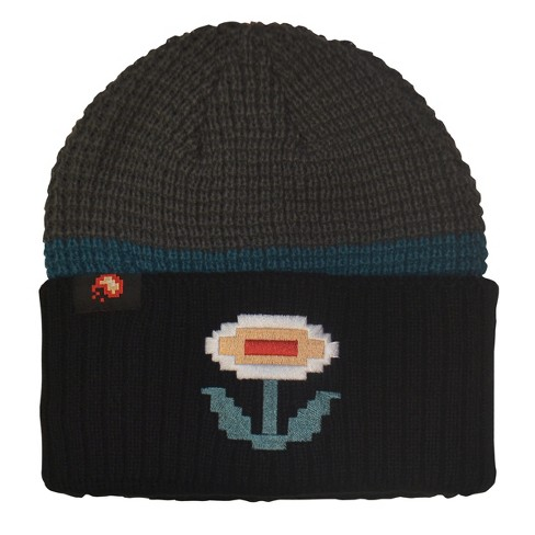 cace2a1bbe8 Nintendo Super Mario Knit Hat - Fire Flower   Target