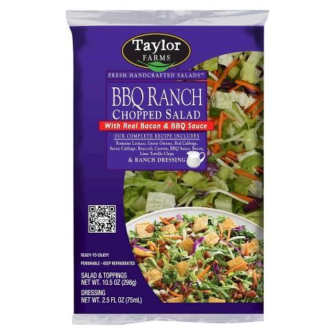 Taylor Farms BBQ Ranch Chopped Salad Kit - 13oz - image 1 of 1