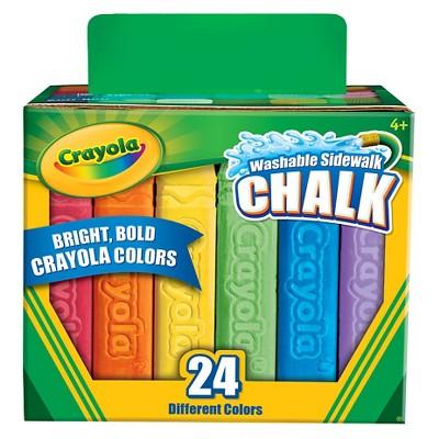 Crayola® Sidewalk Chalk Washable 24ct
