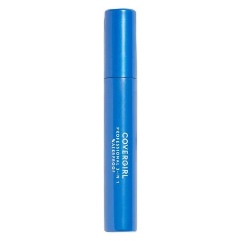 89a93a45330 COVERGIRL Professional 3-in-1 Waterproof Mascara 225 Very Black .3 Fl Oz :  Target