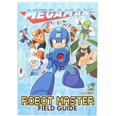 Nerd Block Mega Man: Robot Master Field Guide Paperback Book