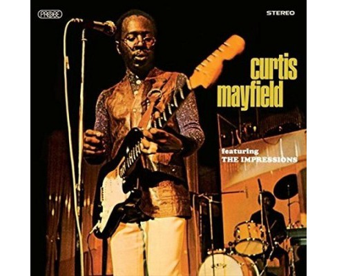 Curtis Mayfield - Curtis Mayfield Featuring The Impress (Vinyl) - image 1 of 1