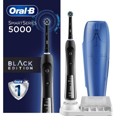 Oral-B Pro 5000 SmartSeries Electric Toothbrush with Bluetooth Connectivity Powered by Braun Black Edition