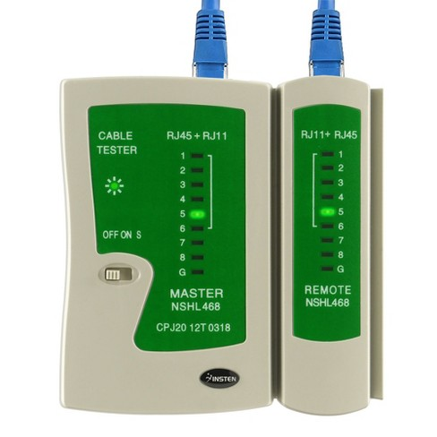 INSTEN Cable Tester compatible with RJ45 / RJ11 - image 1 of 4