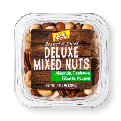 Good Sense Roasted Salted Deluxe Mixed Nuts - 10.5oz