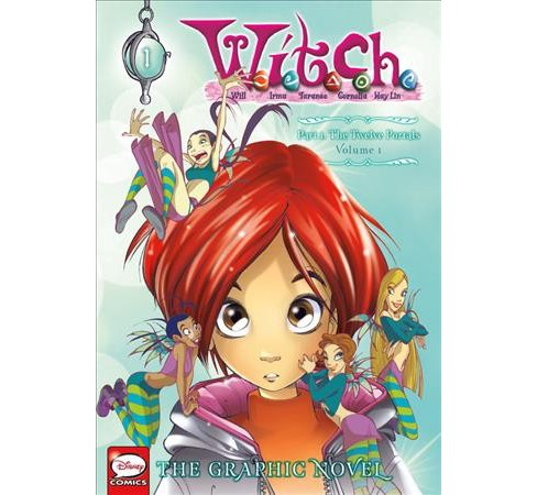 W.I.T.C.H 1 : The Twelve Portals -  (W.I.T.C.H) (Paperback) - image 1 of 1