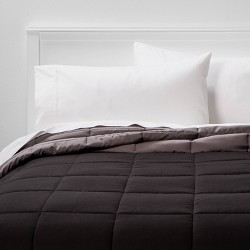 Reversible Microfiber Solid Comforter - Room Essentials™