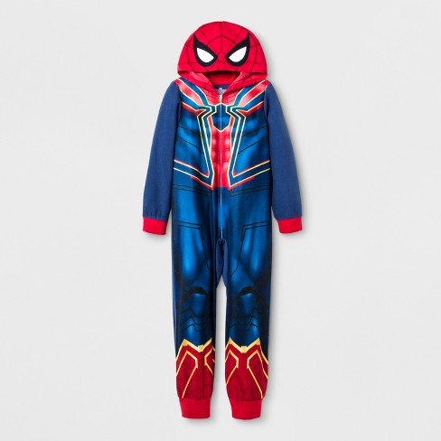 Boys' Spider-Man Union Suit - Red/Navy - image 1 of 1