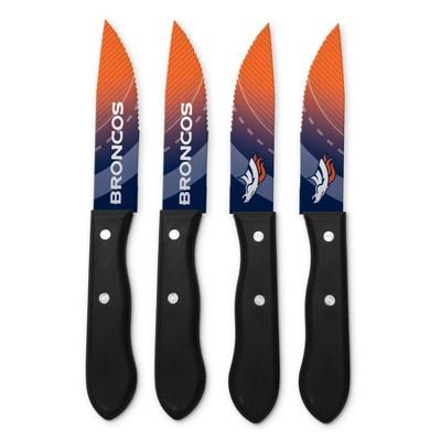NFL Denver Broncos Steak Knife Set