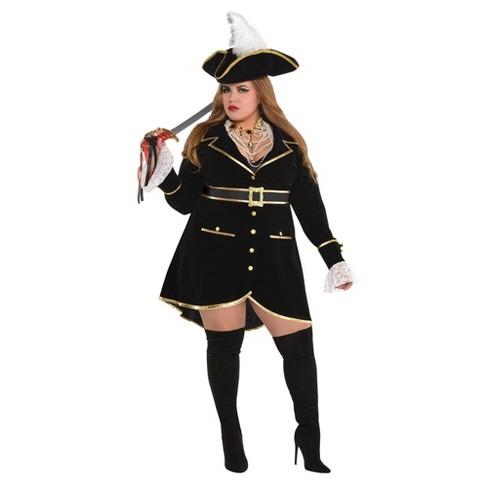 Adult Plus Treasure Halloween Costume - image 1 of 1
