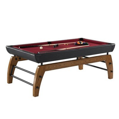 "Hall of Games Edgewood 84"" Billiard Table - Red"