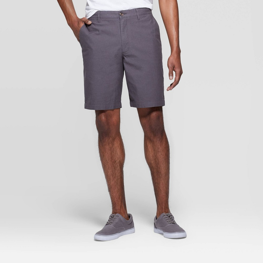 e7dc4d9537 Mens 9 Chino Shorts Goodfellow Co Gray 42