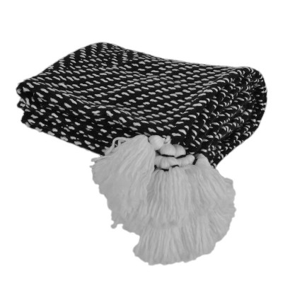 Tarlestown Throw Blanket Black - Décor Therapy