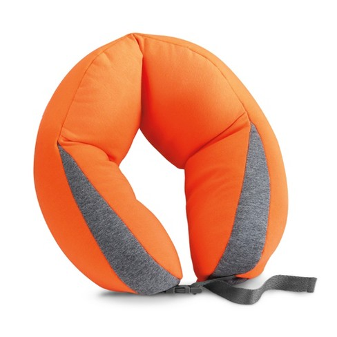 Travel Smart by Conair Soft Beaded Travel Pillow - Orange - image 1 of 4