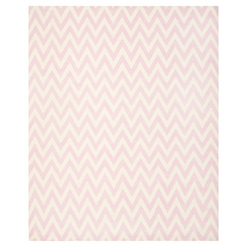 9'X12' Geometric Area Rug Pink/Ivory - Safavieh - image 1 of 3