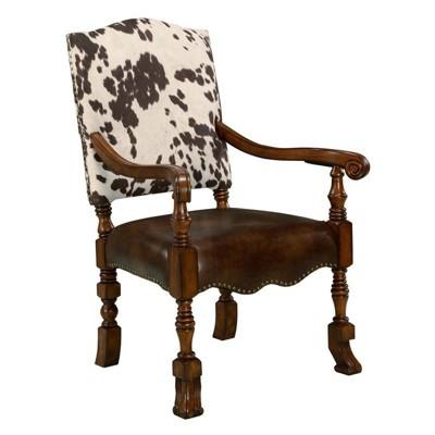 Jaxon Microfiber Accent Chair in Brown - Comfort Pointe