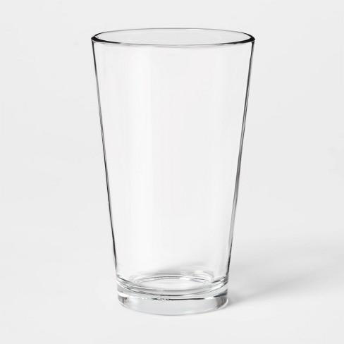 16oz Glass Basic Pint Glass - Threshold™ - image 1 of 1
