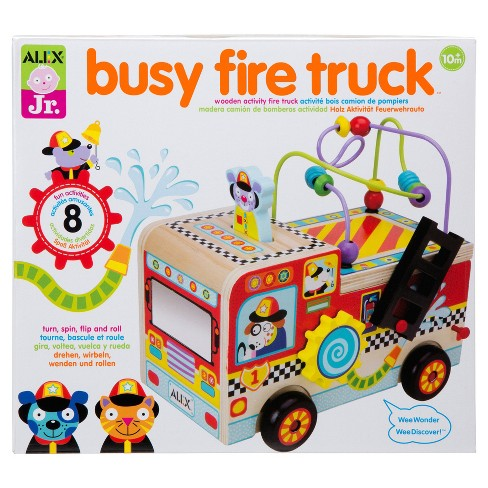 ALEX Toys ALEX Jr. Busy Fire Truck Wooden Activity Center - image 1 of 4