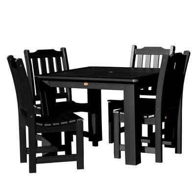 Gentil Lehigh 5pc Square Dining Set   Highwood