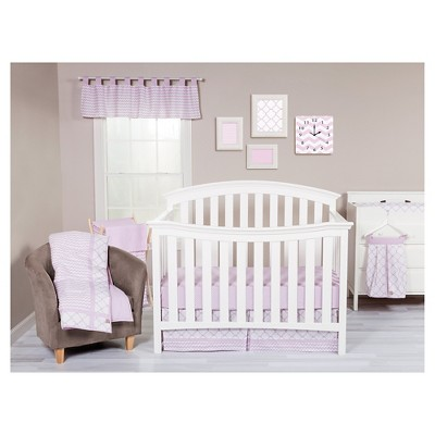 Trend Lab 3pc Crib Bedding Set – Orchid Bloom