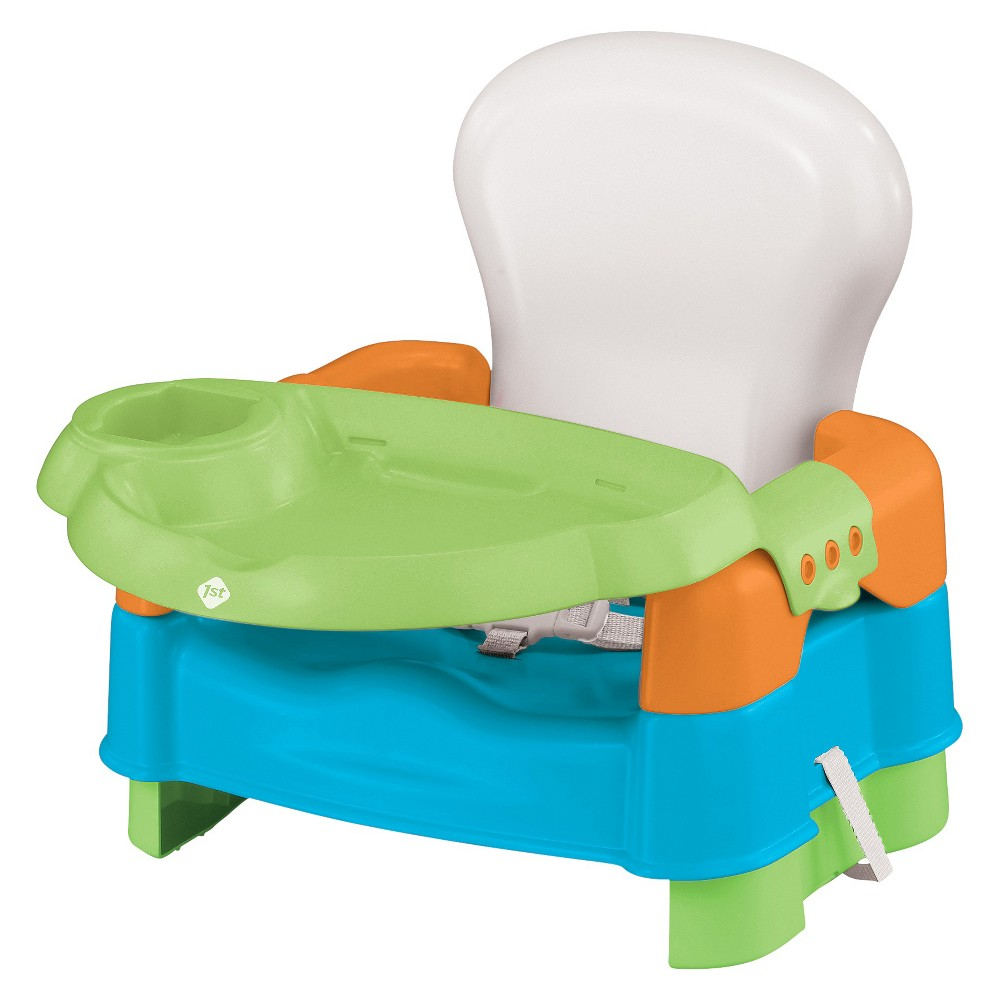 Safety 1st Sit Snack & Go Convertible Booster Seat, Multi-Colored