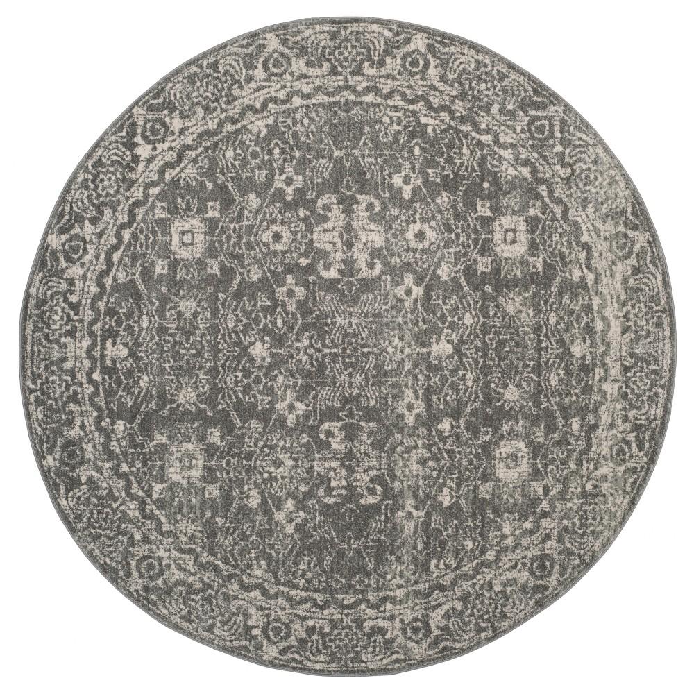 Evoke Rug - Grey/Ivory - (6'7