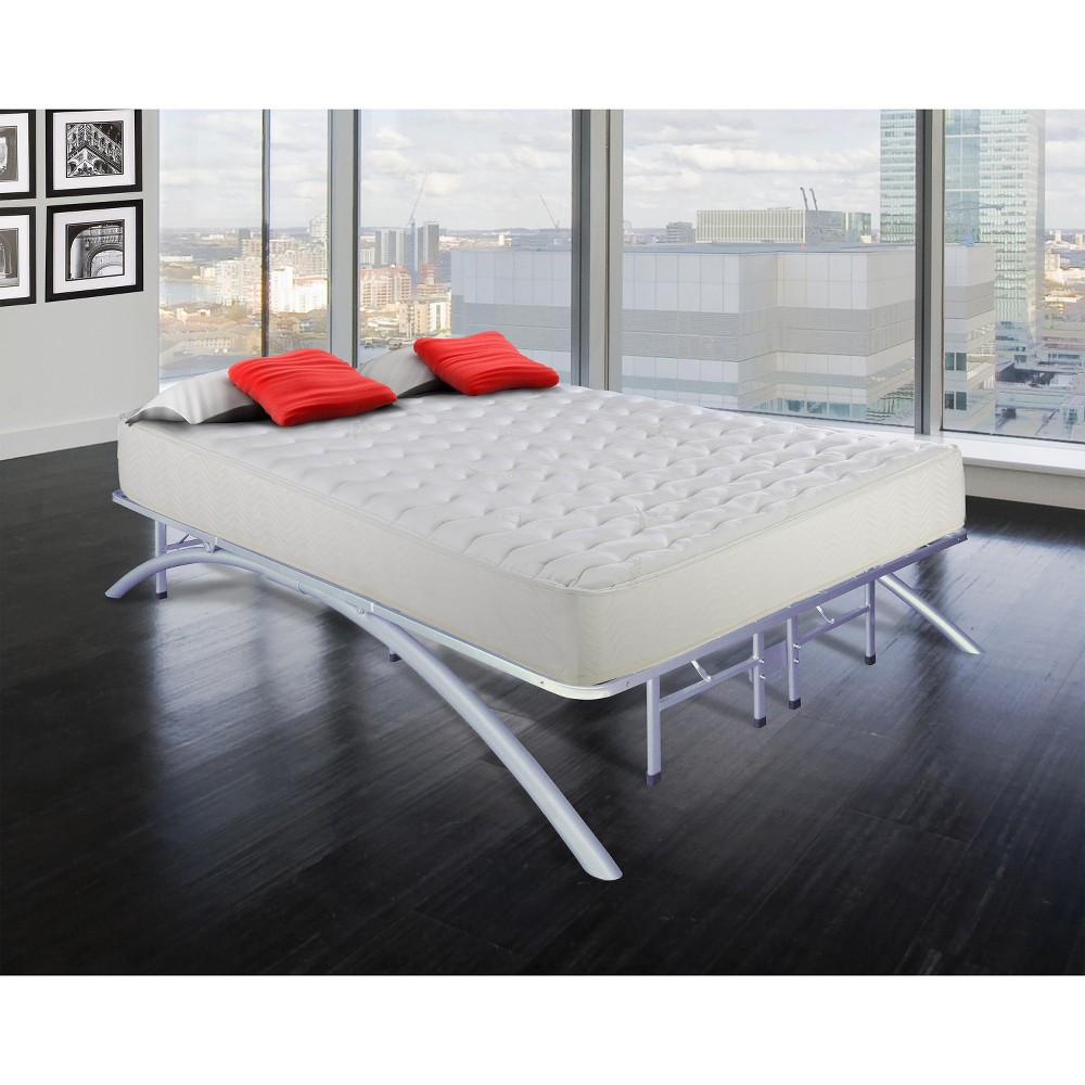 Image of Arch Support Metal Platform Bed Frame (Full) - Eco Dream, Size: Double