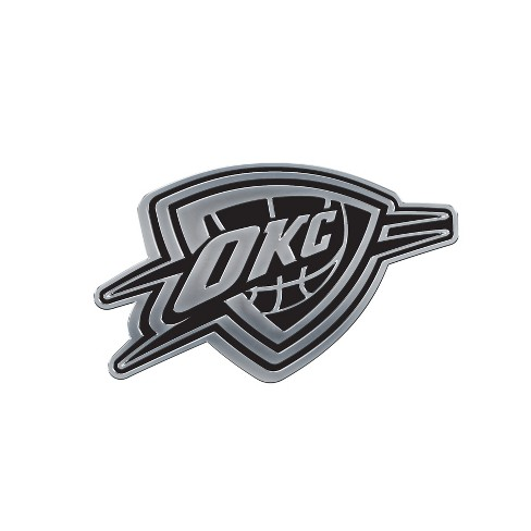 NBA Oklahoma City Thunder Chrome Auto Badge