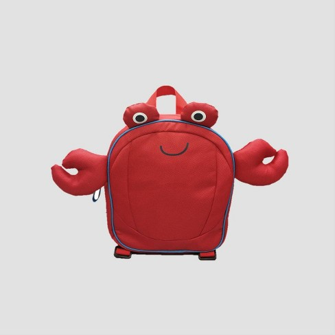 Boys' Crab Backpack - Cat & Jack™ Red - image 1 of 3