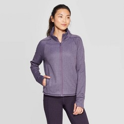 Women's Training Herringbone Fleece Full Zip Track Jacket - C9 Champion®