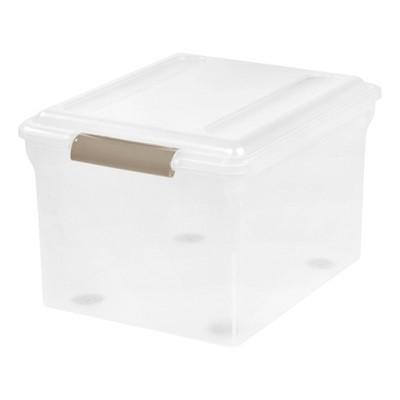 IRIS Sliding Plastic Storage Bin