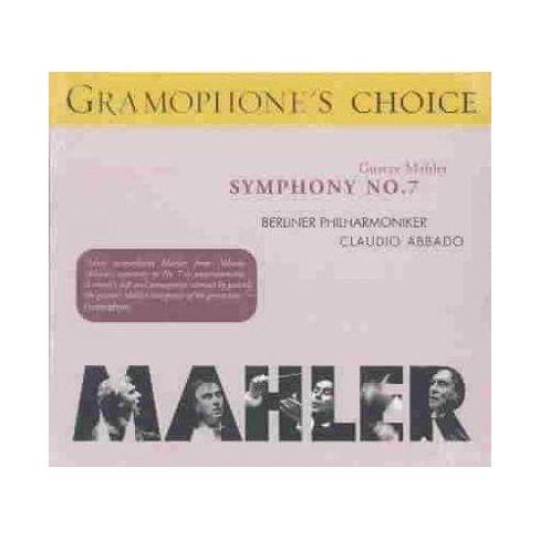 Claudio  Gustav [Composer]; Recorded Sound; Abbado Mahler - Mahler:Symphony No. 7 (CD) - image 1 of 1