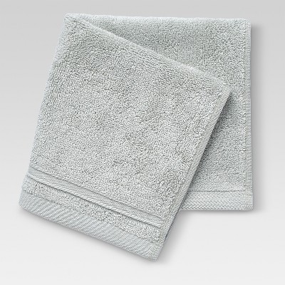 Performance Solid Washcloth Sage - Threshold™
