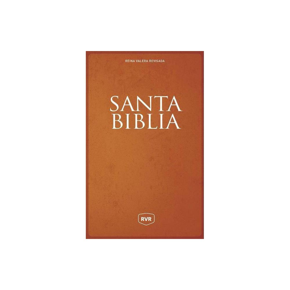 Santa Biblia Reina Valera Revisada Rvr Letra Extra Grande Tama O Manual Letra Roja R Stica Large Print Paperback