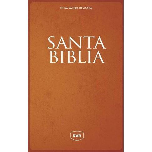Santa Biblia Reina Valera Revisada Rvr, Letra Extra Grande, Tama�o Manual, Letra Roja, R�stica - image 1 of 1
