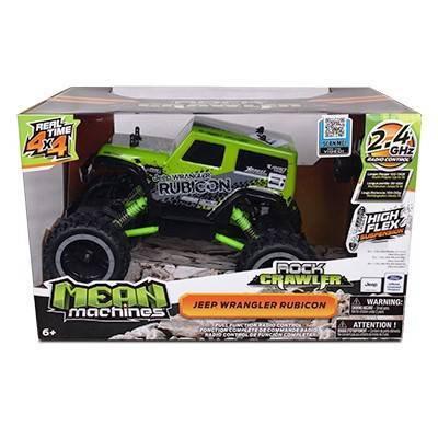Mean Machine's Rock Crawler 1/18th Scale Jeep Wrangler