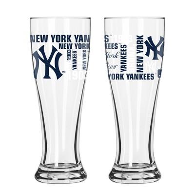 New York Yankees 2pk Spirit Pilsner Glasses