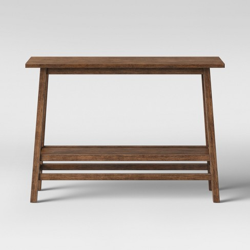 Haverhill Reclaimed Wood Console Table with Shelf Brown - Threshold™ - image 1 of 4
