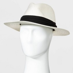 Men's Panama Paper Straw Hat - Goodfellow & Co™ White