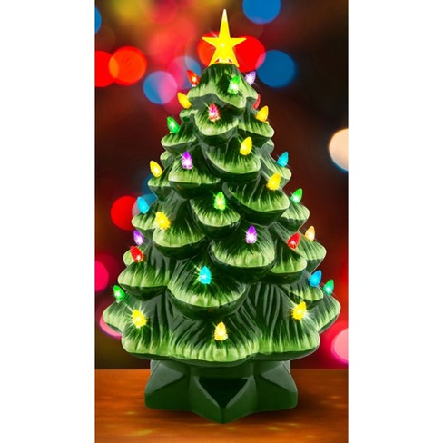about this item - Large Ceramic Christmas Tree