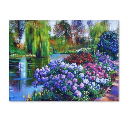 "24"" x 32"" Promise of Spring by David Lloyd Glover - Trademark Fine Art"
