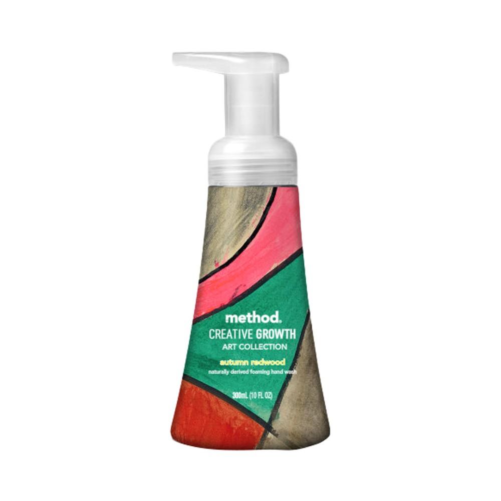 Method Creative Growth Art Collection Autumn Redwood Foaming Handwash - 10 fl oz