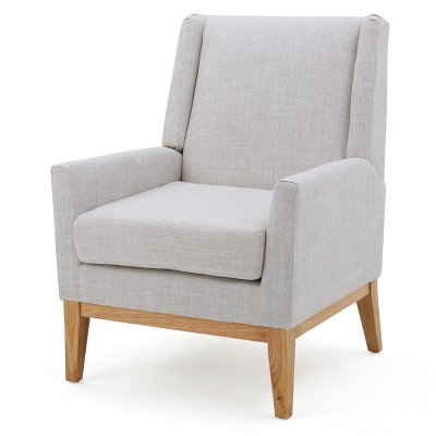 Aurla Upholstered Chair - Beige - Christopher Knight Home
