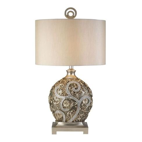 OK Lighting Silver Vine Table Lamp - image 1 of 4