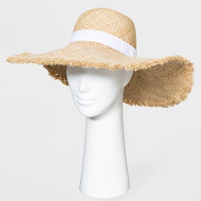 Women's Dome Fringe Novelty Style Hats - A New Day™ Natural One Size